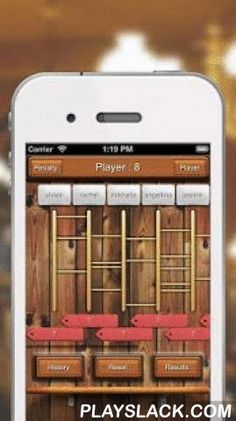 Lucky Ladder  Android App - playslack.com ,  FREE now!!! Best Random Game - Lucky Ladder This app is ladder betting game. How about 'lottery ladders' for lunch, coffee or snack! Our app is easiest lottery ladders ever. You can enjoy this game very easily through convenient UI After enter participant and betting, Start game. [FEATURES] - This is a easy ladder game. - Touch your Screen to draw a Labber! - Control speed. Good luck to you.