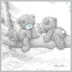 tatty teddy me to you Tatty Teddy, Teddy Bear Pictures, Bear Photos, Cute Images, Cute Pictures, Calin Gif, Teddy Day, Bear Images, Blue Nose Friends