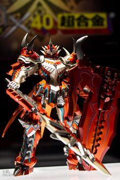 GG FIGURE NEWS: Monster Hunter 10th Anniversary x Bandai Chogokin: Monster Hunter - On Display Images