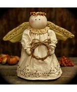 """One """"Country Angel Shelf Sitter . One """"Country Angel Shelf Sitter"""" for your consideration.Guardian of country harvests this darling stuffed . Snow Angels, Christmas Angels, Winter Christmas, Nativity Crafts, Holiday Crafts, Handmade Angels, Angel Crafts, Christmas Wonderland, Christmas Sewing"""