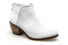 Boots BISOUS CONFITURE 10956 Blanc - Chaussures femme
