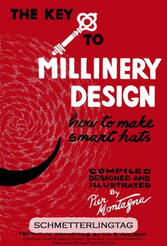 1962 Millinery Book Hat Making Make Hats DIY by schmetterlingtag, $14.99