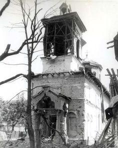 Bucharest bombing 1944 | Romania Dacia Abandoned Churches, British American, Rare Photos, Past, Anna, Memories, Romania, Marseille, Bucharest
