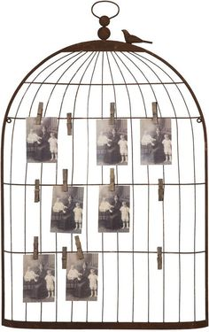 Home Decorators Collection Birdcage Card Holder, Bronze Picture Holders, Photo Holders, Birdcage Card Holders, Place Card Holders, Wall Ornaments, Save On Crafts, Bronze, Creative Co Op, Farmhouse Christmas Decor