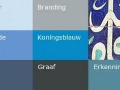 Warme kleuren | verzadigde kleuren - kleur  humeur van Histor | Kleur  humeur | Histor.nl | Histor