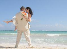 vacationsbyvip.com | Destination Wedding at Dreams Tulum. #Catholic wedding in Mexico.