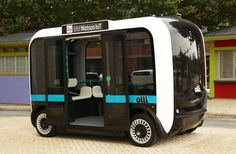 IBMs Watson AI Powers IoT Services In Self-Driven Mini Bus #Android #CES2016 #Google