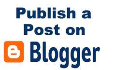 Post on Blogger