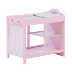 ROBA Poppen Commode Princess Sophie, roze pinkorblue.nl ♥ Ruim 40.000 producten online ♥ Nu eenvoudig online shoppen!