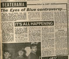 Eyes of Blue controversy!
