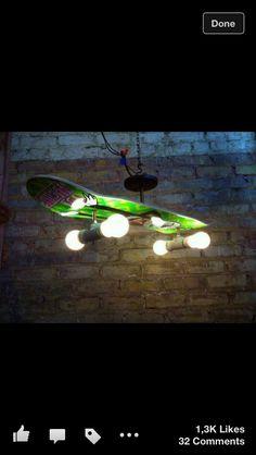 Boys room light idea
