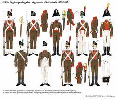 наполеон и революция: Португальский Легион (La Legion portugaise, Legiao Portuguesa)