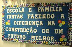 Resultado de imagem para dia da familia na escola Classroom Organization, Holidays And Events, Crafts For Kids, Clip Art, School, Rose, Education Week, Greetings Posters, School Board Decoration