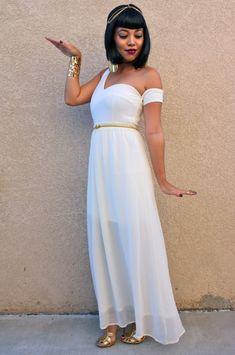 Karneval Kostüm Idee für Frauen: Kleopatra Kostüm selber machen