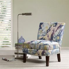 Madison Park Hayden Accent chair  Multi  265x3075x34 ** Check out the image by visiting the link.Note:It is affiliate link to Amazon.