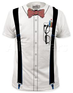 Nerd Costume Tee (slim fit) T-Shirt at AllPosters.com