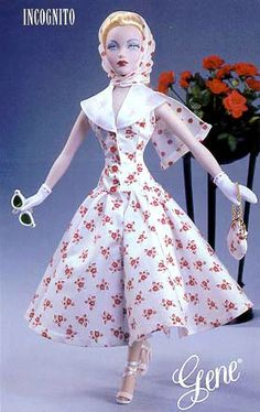 Incognito, Gene Doll was recently added to my Doll Attic. I love all kinds of dolls. Especially Fashion Dolls.