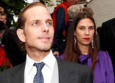 Andrea and Tatiana at the wedding of Maria Theresia von Thurn und Taxis, September 2014 Andrea Casiraghi, Monaco, Thurn Und Taxis, Ernst August, Prince Albert, Girlfriends, Pulsar, September 2014, Royals