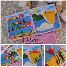 Мастерская Elifçe: Quiet book Pink Girl Развивающая книжка №11