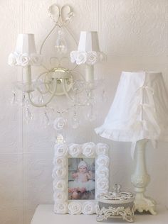 English Victorian Sconce | ... 1523 Vintage Inspired Double Light Wall Sconce 1523 White Roses Shades