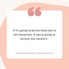 Teachers Teach Teaching: Episode 5 Listen Related Links 5 Things to Know about Using Zoom and Other video calls How to Help Students As