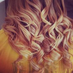 My Hair after the hairdressers if only I can do this at home
