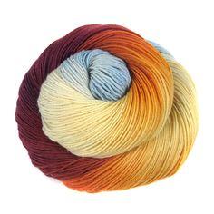 Into The Whirled Pakokku Sock Yarn in Arrakis (Dune themed)