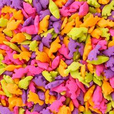 2.6 OZ. Edible Dinosaur Confetti - Edible Cake Decoration - Baking Candy Making Party Supplies
