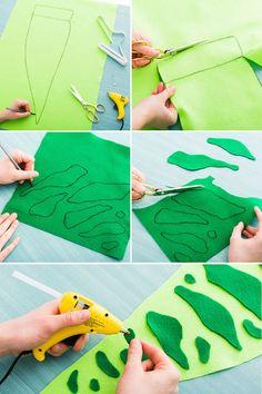 disfraz infantil casero dinosaurio tutorial