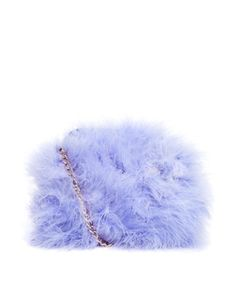 Image 1 ofRiver Island Lilac Feather Cross Body Bag