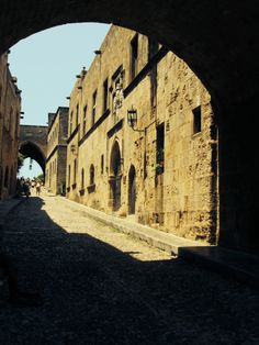 Avenue of the Knights, Old Town, Rhodes