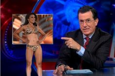 Colbert Mocks Miss America Outrage: 'People Saw Woman in Bikini and Thought Muslim Extremist'
