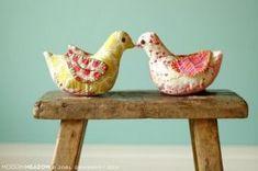 Free Pincushion Patterns | Free pattern: Bird pincushion or sachet · Sewing | CraftGossip.com