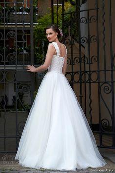 stephanie allin 2014 maisy wedding dress straps back