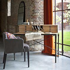 Home office, Kadences Deco. http://www.kenisahome.com/blog