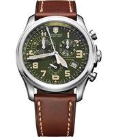 Nieuw op Horloge.nl. Victorinox Horloges, zoals deze bijvoorbeeld: 241287 Infantry Vintage Chronograph 44mm