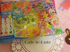 A fun Japanese DIY candy kit that you can make your own gummies with!