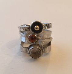 Stack Rings Jill Endicott Jewellery