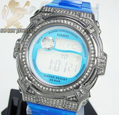 Baby G-Shock Diamond Watch Baby G Shock, Amazing Watches, G Shock Watches, Casio Watch, Chronograph, Diamond, Accessories, Jewelry, Jewlery