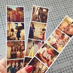 Instagram Photostrips {Digital Graphics}    Don't leave favorite your Instagram photos trapped inside your iPhone for the rest of eternity. Instead, create a one-of-a-kind photo-strip with help from this digital graphics tutorial.