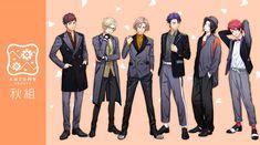 Cute Anime Boy, Anime Guys, Pretty Boys, Cute Boys, Stage Play, Diabolik Lovers, Ensemble Stars, Hisoka, Mystic Messenger