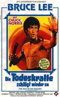 Bruce Lee Die Todeskralle schlaegt wieder zu * IMDb Rating: 7,2 (13.351) * 1972 Hong Kong * Darsteller: Bruce Lee, Nora Miao, Chuck Norris,