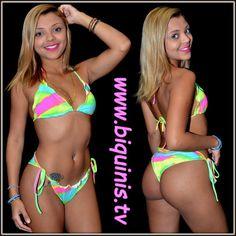 Ubatuba tem os mais lindos biquínis das praias brasileiras.Biquínis em Ubatuba : Os biquínis da Coleção Chiquita Bacana com calcinh...