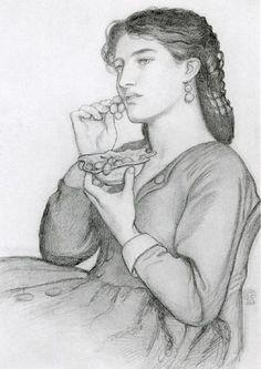 Sweet-tooth by Dante Gabriel Rossetti (1828-1882)