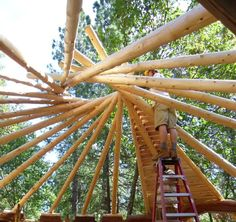 roundwood timber framing - Поиск в Google