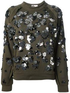 LANVIN - gem embellished sweatshirt 6