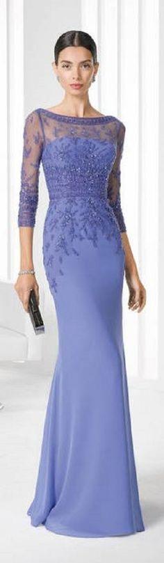 Vestido de festa para mãe da noiva ou noivo -  long dress