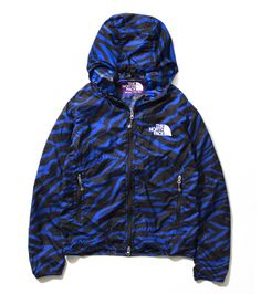 THE NORTH FACE PURPLE LABEL / ZEBRA Print Mountain Wind Parka