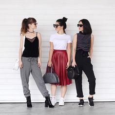 Qual seu look preferido? Adoramos demais nossas peças @florlindaoficial 🌹 #irmasalcantara #publiamô