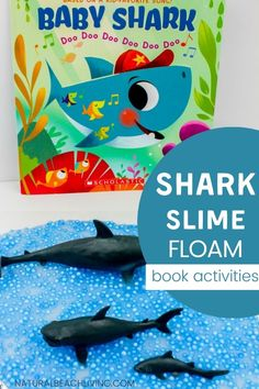 Shark Activities, Hands On Activities, Toddler Activities, Preschool Activities, Toddler Play, Toddler Preschool, Fun Learning, Learning Activities, Shark Books